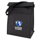 Black Lunch Sack-EIU Primary Logo