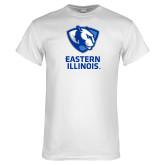 White T Shirt-EIU Primary Logo