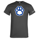 Charcoal T Shirt-Panther Paw