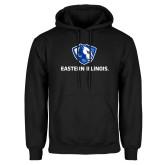 Black Fleece Hoodie-Eastern Illinois Logo