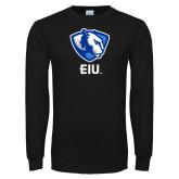 Black Long Sleeve T Shirt-Eastern Illinois Secondary