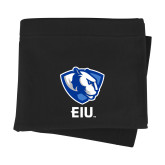 Black Sweatshirt Blanket-Eastern Illinois Secondary