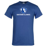 Royal T Shirt-Eastern Illinois Logo