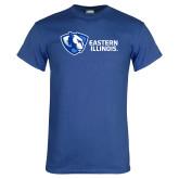 Royal T Shirt-Eastern Illinois Horizontal