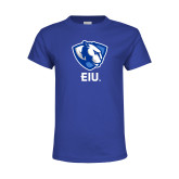 Youth Royal T Shirt-Eastern Illinois Secondary