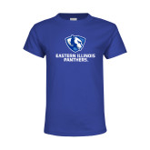 Youth Royal T Shirt-Eastern Illinois Panthers