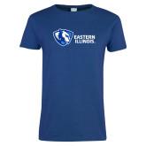 Ladies Royal T Shirt-Eastern Illinois Horizontal