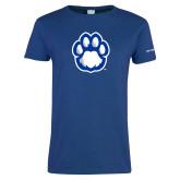 Ladies Royal T Shirt-Panther Paw