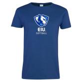 Ladies Royal T Shirt-Softball