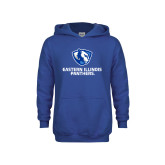 Youth Royal Fleece Hoodie-Eastern Illinois Panthers