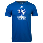 Adidas Climalite Royal Ultimate Performance Tee-EIU Primary Logo