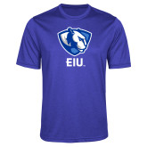 Performance Royal Heather Contender Tee-Eastern Illinois Secondary