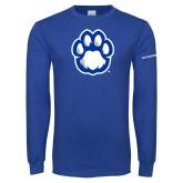Royal Long Sleeve T Shirt-Panther Paw