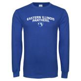 Royal Long Sleeve T Shirt-Collegiate Design
