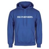 Royal Fleece Hoodie-EIU Panthers