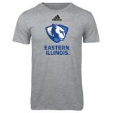 Adidas Sport Grey Logo T Shirt-EIU Primary Logo