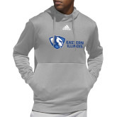 Adidas Grey Team Issue Hoodie-EIU Primary Logo
