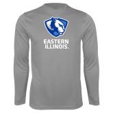 Performance Steel Longsleeve Shirt-EIU Primary Logo