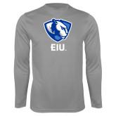 Performance Steel Longsleeve Shirt-Eastern Illinois Secondary