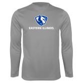 Performance Steel Longsleeve Shirt-Eastern Illinois Logo