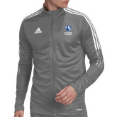 Adidas Grey Tiro 19 Training Jacket-EIU Primary Logo