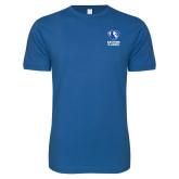 Next Level SoftStyle Royal T Shirt-EIU Primary Logo