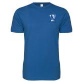Next Level SoftStyle Royal T Shirt-Eastern Illinois Secondary