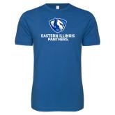 Next Level SoftStyle Royal T Shirt-Eastern Illinois Panthers