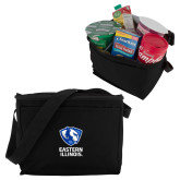 Six Pack Black Cooler-EIU Primary Logo