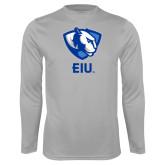 Performance Platinum Longsleeve Shirt-Eastern Illinois Secondary