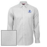 Red House White Diamond Dobby Long Sleeve Shirt-Eastern Illinois Panthers