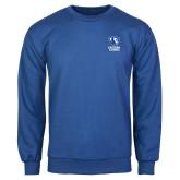 Royal Fleece Crew-EIU Primary Logo