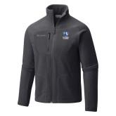 Columbia Full Zip Charcoal Fleece Jacket-EIU Primary Logo
