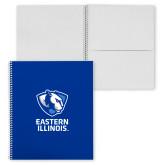 College Spiral Notebook w/Clear Coil-EIU Primary Logo