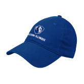 Royal Twill Unstructured Low Profile Hat-Eastern Illinois Logo