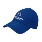 Royal Twill Unstructured Low Profile Hat-Eastern Illinois Panthers