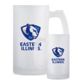 Full Color Decorative Frosted Glass Mug 16oz-EIU Primary Logo