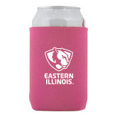 Neoprene Hot Pink Can Holder-EIU Primary Logo