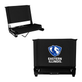 Stadium Chair Black-EIU Primary Logo