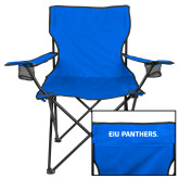 Deluxe Royal Captains Chair-Eastern Illinois Logo