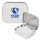 White Rectangular Peppermint Tin-EIU Primary Logo