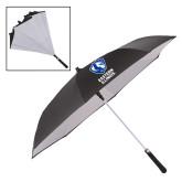 48 Inch Auto Open Black/White Inversion Umbrella-EIU Primary Logo