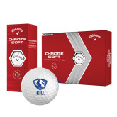 Callaway Chrome Soft Golf Balls 12/pkg-Eastern Illinois Secondary