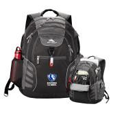 High Sierra Big Wig Black Compu Backpack-EIU Primary Logo