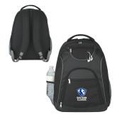 The Ultimate Black Computer Backpack-EIU Primary Logo