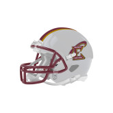 Riddell Replica White Mini Helmet-Primary Athletic Mark