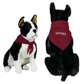 Maroon Pet Bandana-Eureka College w/ Shield