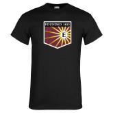 Black T Shirt-Shield