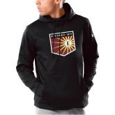 Under Armour Black Armour Fleece Hoodie-Shield