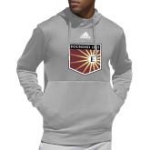 Adidas Grey Team Issue Hoodie-Shield